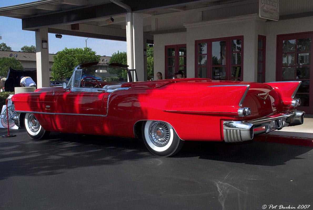 1956 Cadillac Eldorado Red With Top Down Rvl General