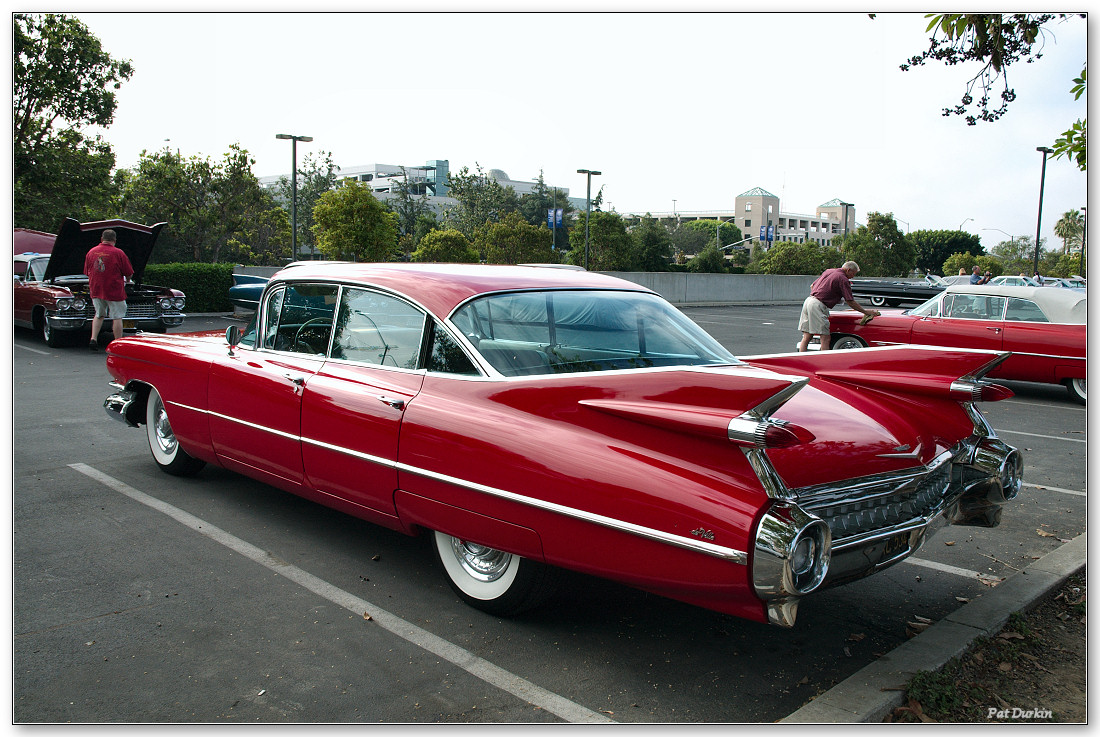 1959 cadillac sedan deville - red - rvl - general motors products