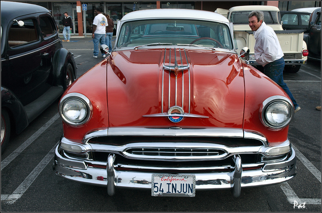 Pontiac Oakland Antique Automobile Club Of America Discussion Forums 1941 Star Chief 1954 Winter White Over Coral Red Front