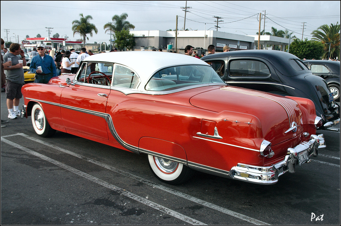 Pontiac Oakland Antique Automobile Club Of America Discussion Forums 1950 Star Chief 1954 Winter White Over Coral Red Rvl