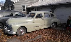 1948 Pontiac Silverstreak 4dr Sedan