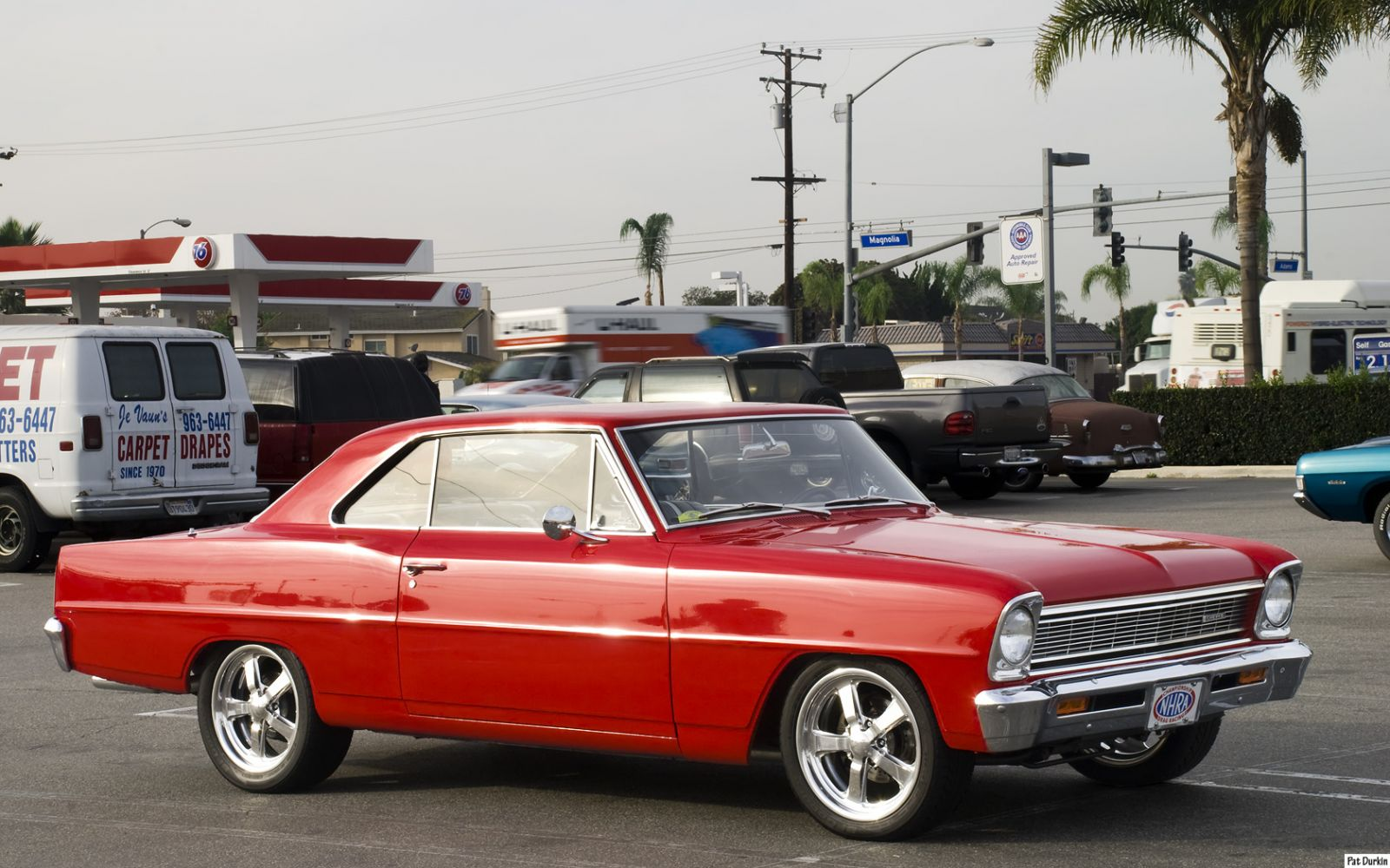 All Chevy chevy 2 : 1966 Chevrolet Chevy II Nova - red - fvr 2 - General Motors ...