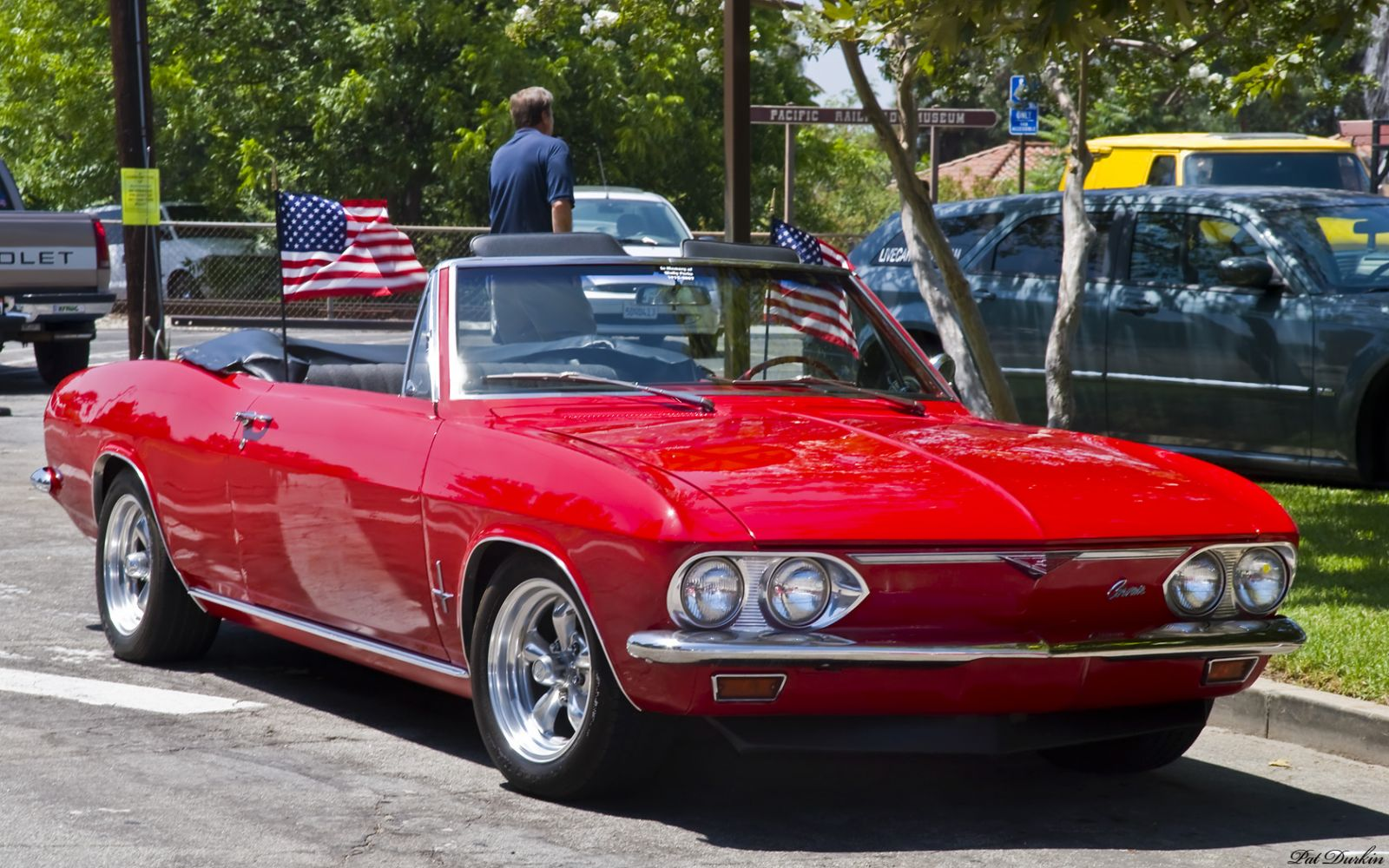 All Chevy chevy corvair monza : 1967 Chevrolet Corvair Monza Convertible - red - fvr - General ...