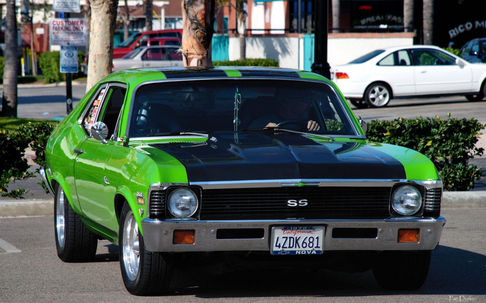 All Chevy black chevy nova ss : 1972 Chevy II Nova SS - Chartreuse & Black - fvr 2 - General ...