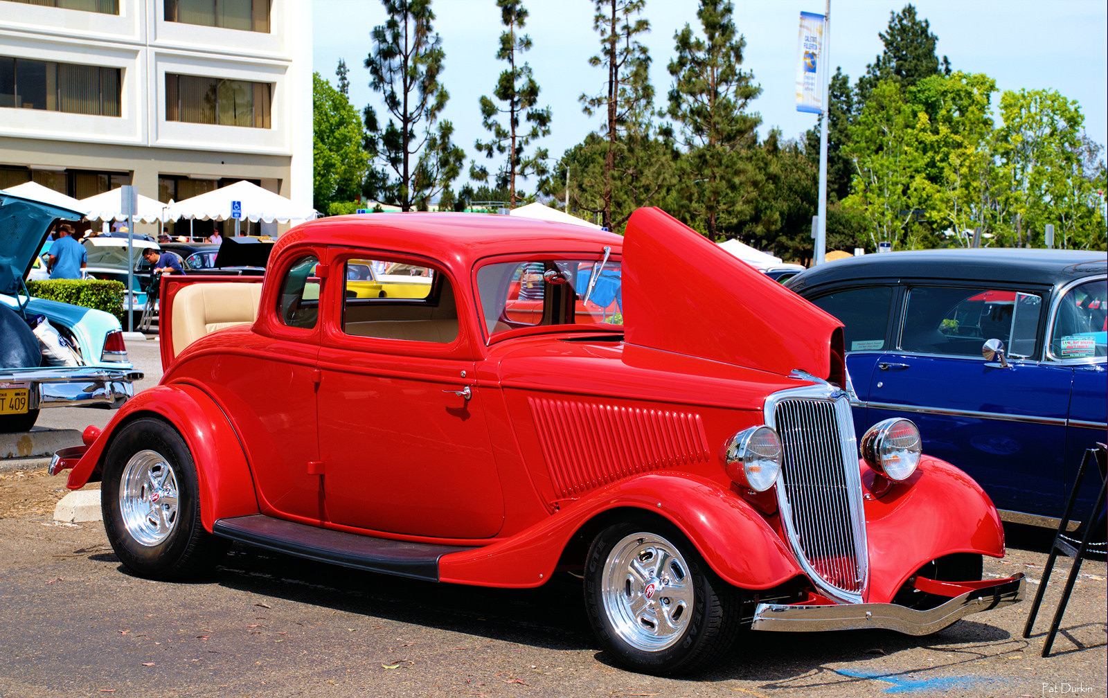 1934 ford 5 window coupe mod red fvr ford products for 1934 5 window coupe for sale