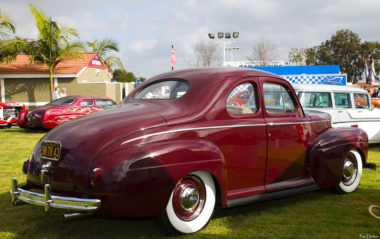 Ford Pre War Antique Automobile Club Of America Discussion Forums 1941 Coupe Convertible Super Deluxe Maroon Rvr