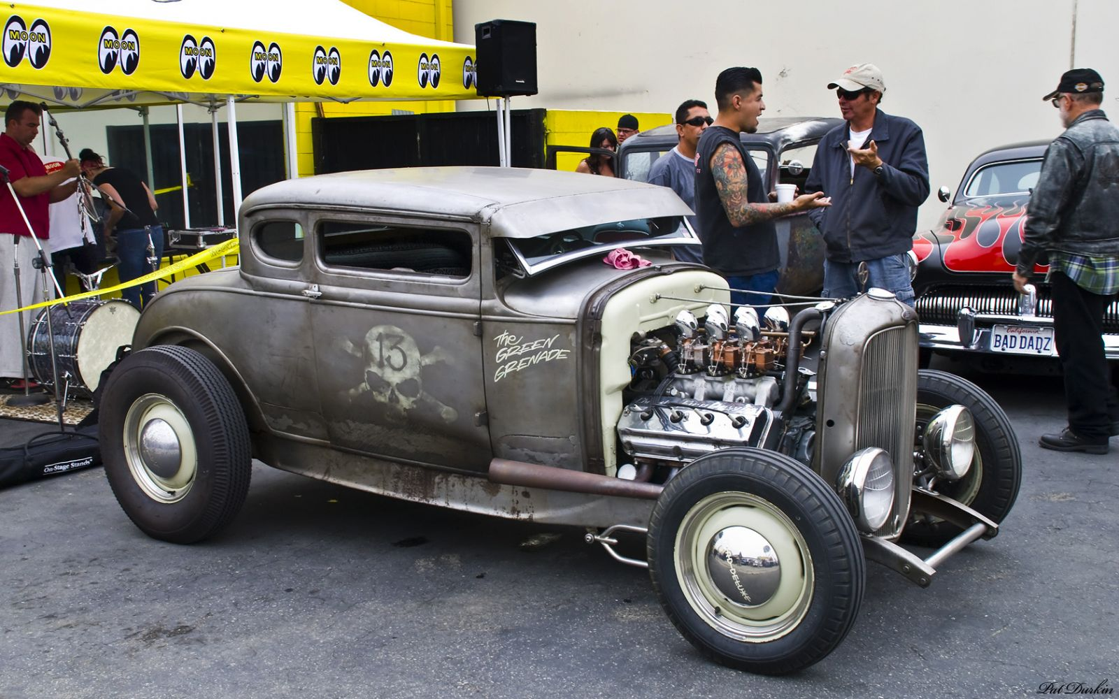 1932 Ford 5-window coupe - chopped rat rod - Hemi powered - fvr ...