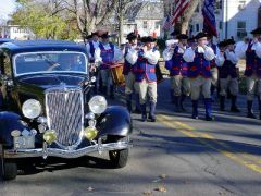 1934 Ford Sedan in 2004 Branford Veterans Day Parade