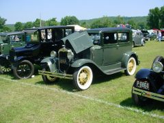 Beautiful 1930 Ford at Haddam, CT car show 7/10/2005