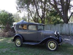 1930 Ford Model A Tudoor
