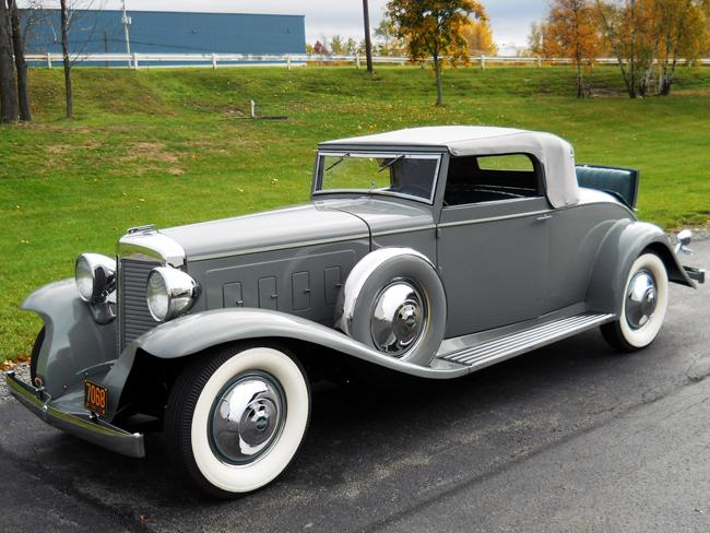 FOR SALE: 1931 Marmon V16 Convertible Coupe by LeBaron - Marmon - Antique  Automobile Club of America - Discussion Forums