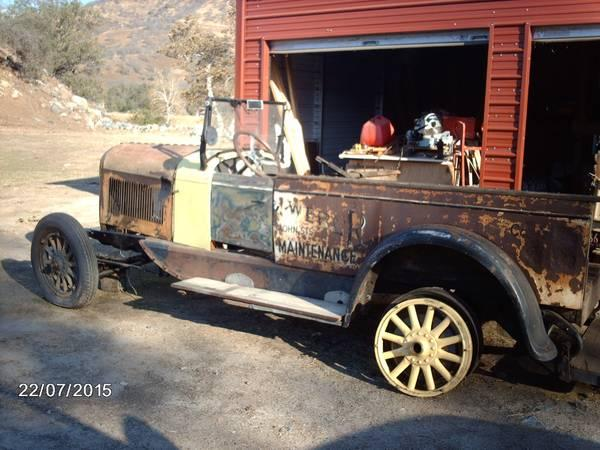 1924 Chrysler Sacramento CA Craigslist NOT MINE - Chrysler Products