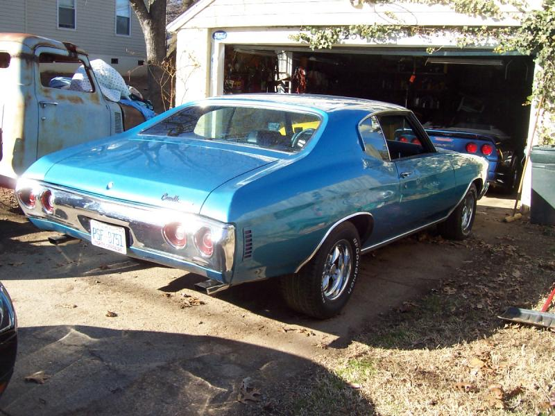 help please: is this 71 chevelle a malibu? - Chevrolet