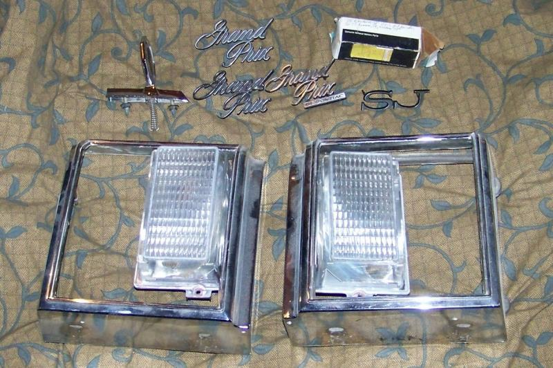 77 Grand Prix NOS and very good used parts for sale - Pontiac