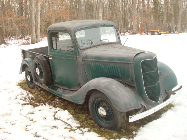 Craigslist Old Cars For Sale >> 1935 Ford Pickup-Sale or Trade-Virginia - Cars For Sale - Antique Automobile Club of America ...