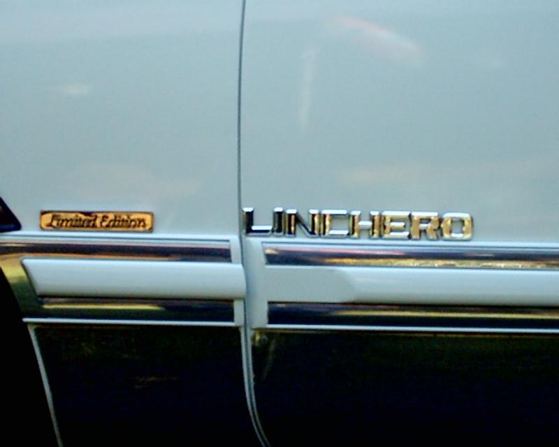 1977 Lincoln Mark V Pick up (Only 12 made in the world