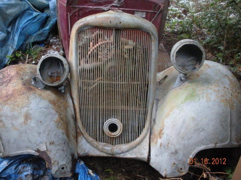 1933 Dodge front Fenders - Dodge & Dodge Brothers - Antique