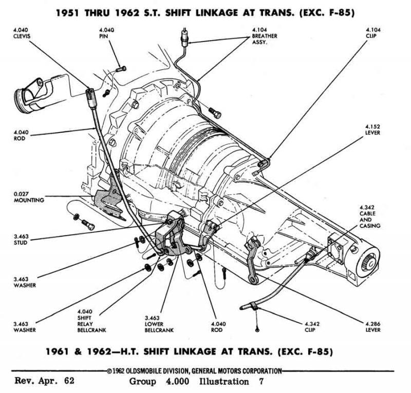 1962 olds 88 engine box wiring diagram 1957 Oldsmobile Delta 88