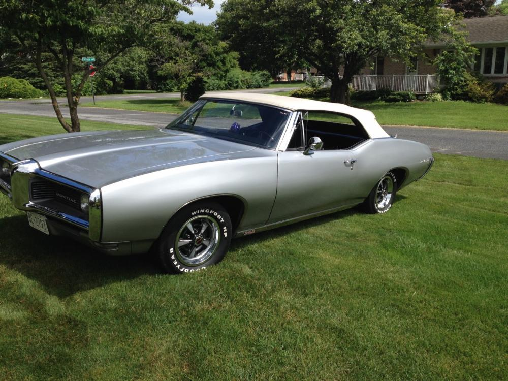 1968 Pontiac Lemans Convertible - Cars For Sale - Antique Automobile ...