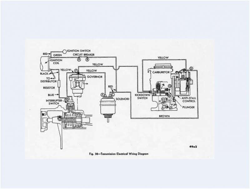 wiring question 1950 desoto with the m6 semi automatic fluid drive rh forums aaca org Basic Wiring Schematics Simple Schematic Diagram