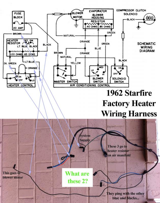 1962 Starfire Heater Harness Oldsmobile Technical Antique Rhforumsaacaorg: 1962 Oldsmobile Starfire Wiring Diagram At Gmaili.net