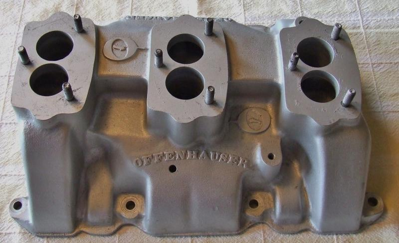 322 Nailhead Tri Power manifold/linkage - Buick - Buy/Sell