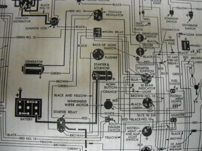 6 volt horn relay wiring diagram 6 volt starter relay technical antique automobile club of  6 volt starter relay technical