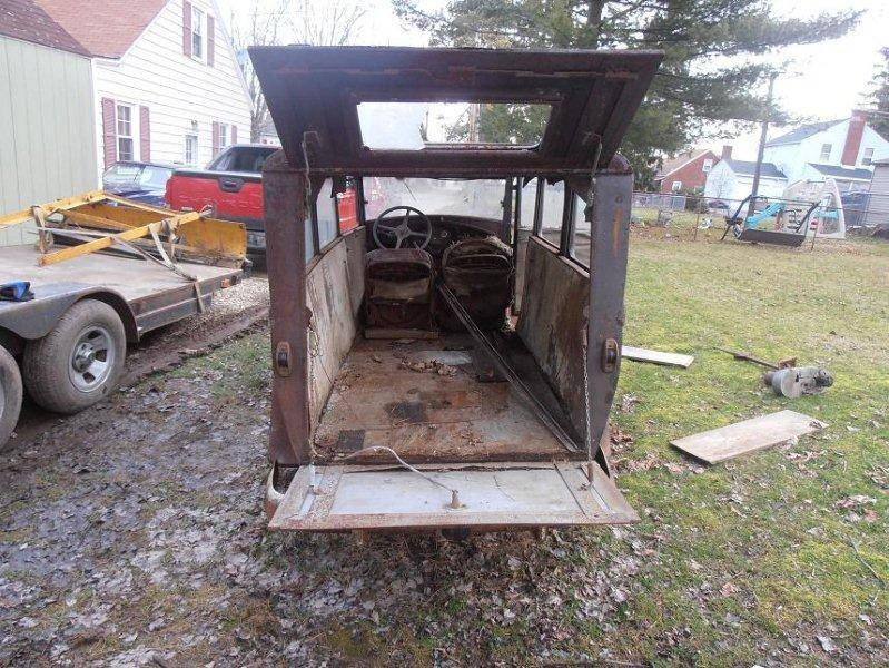 LOOK! What is this 1931 Ford A custom built hearse,flower