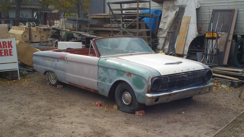 1963 Ford Falcon Convertible Project - Cars For Sale