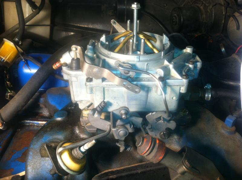Throttle Linkage Picture Request - Buick Riviera - Riviera