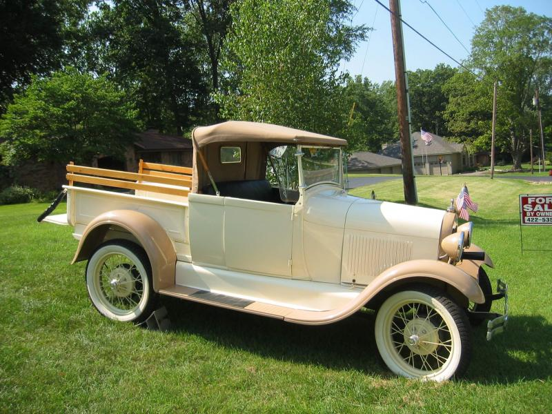 1929 Model A Roadster Pickup For Sale - Ford Model A - Antique ...