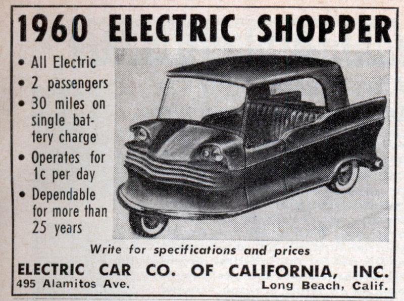 1960's electric car - Automobiles and Parts - Buy/Sell - Antique Automobile  Club of America - Discussion Forums