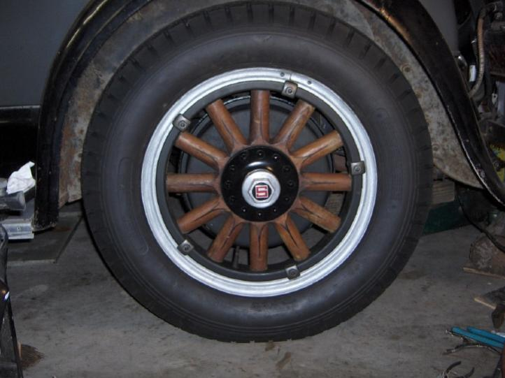 Tire Mounting On Old Wire Wheels Technical Antique Automobile