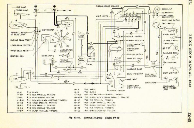 1937 Roadmaster wiring diagram - Buick - Pre War - Antique Automobile Club  of America - Discussion ForumsAACA Forums - Antique Automobile Club of America