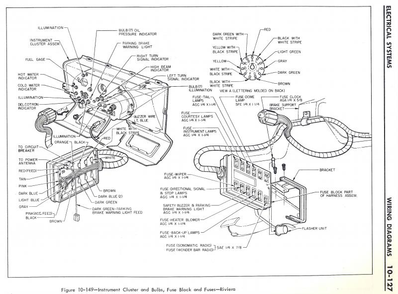 63 fuse box buick riviera riviera owners association  riviera fuse box diagram #9