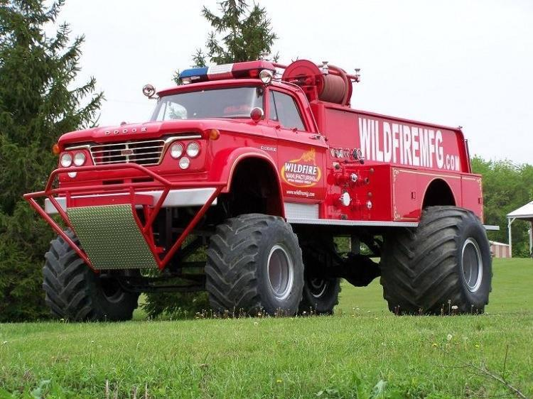 Old Dodge Trucks >> Neat Old Dodge Fire Fighter Truck Not Stock But Cool Dodge