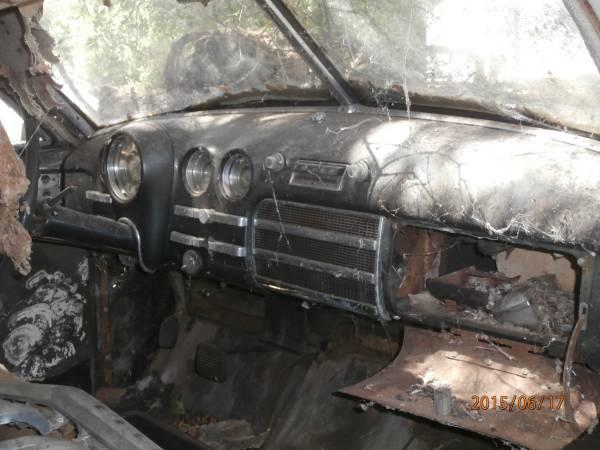 Craigslist: For Sale: 1949 Buick Roadmaster 4 dr  sedan for