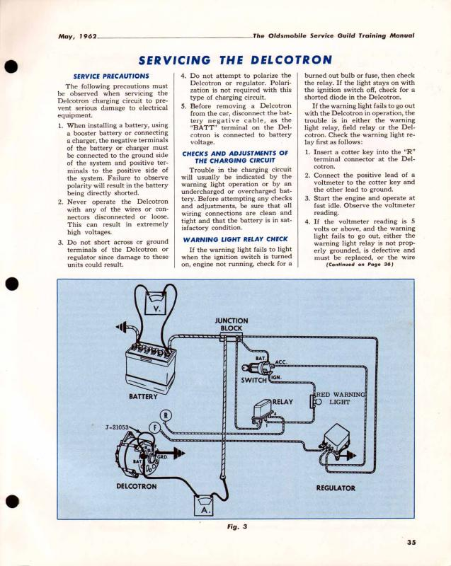 [SCHEMATICS_4FR]  1962 Starfire Wiring Diagram for A/C with Alternator? - Oldsmobile -  Technical - Antique Automobile Club of America - Discussion Forums | Delcotron Alternator Wiring Diagram |  | AACA Forums - Antique Automobile Club of America