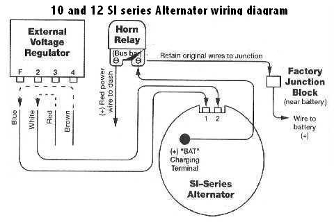 Delcotron Alternator Wiring Diagram | Wiring Diagram on delco 1 wire alternator diagram, 3 wire alternator connections diagram, si alternator dimensions,