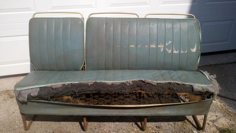 Remarkable 1961 64 Vw Bus Seats For Sale German Vw Mercedes Bmw Evergreenethics Interior Chair Design Evergreenethicsorg
