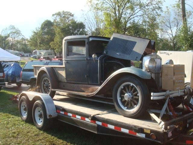 1929 Hupmobile 8 cylinder Pickup Parts - Cars For Sale