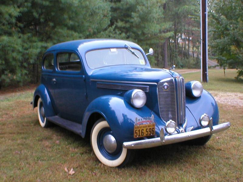 Engine removal 1938 D-9 Sedan - Dodge & Dodge Brothers - Antique