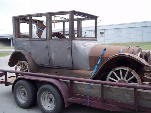 1918 Buick sedan on Craigslist - Buick - Pre War - Technical