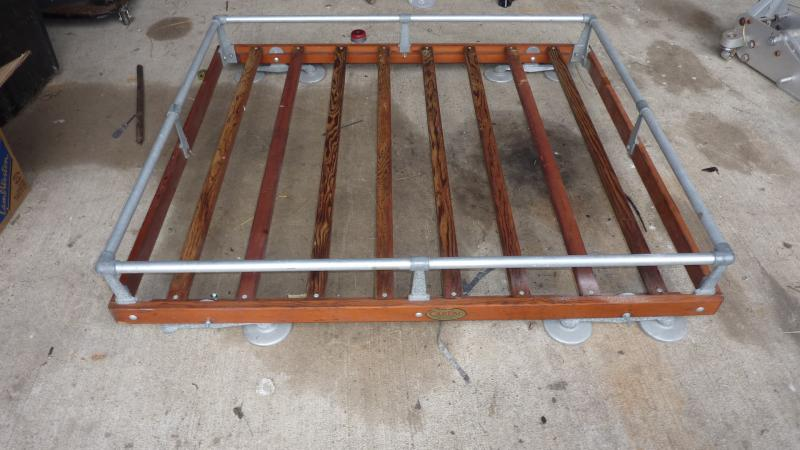 50s Carter Carpac Wooden Roof Rack Cars For Sale