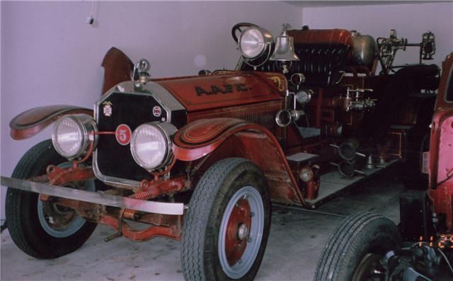 1924 American La France Firetruck For Sale - Commercial (Ambulances