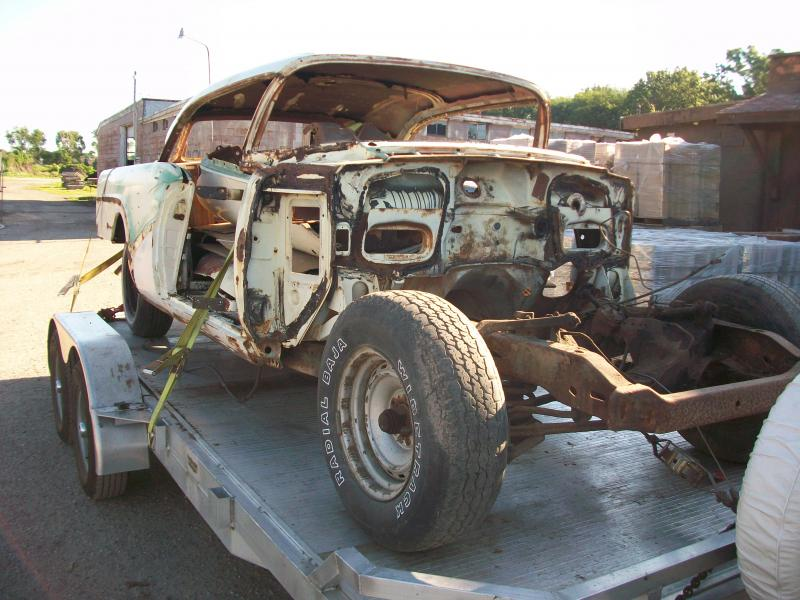 '57  Buick Disassembly, chemical strip 117.jpg