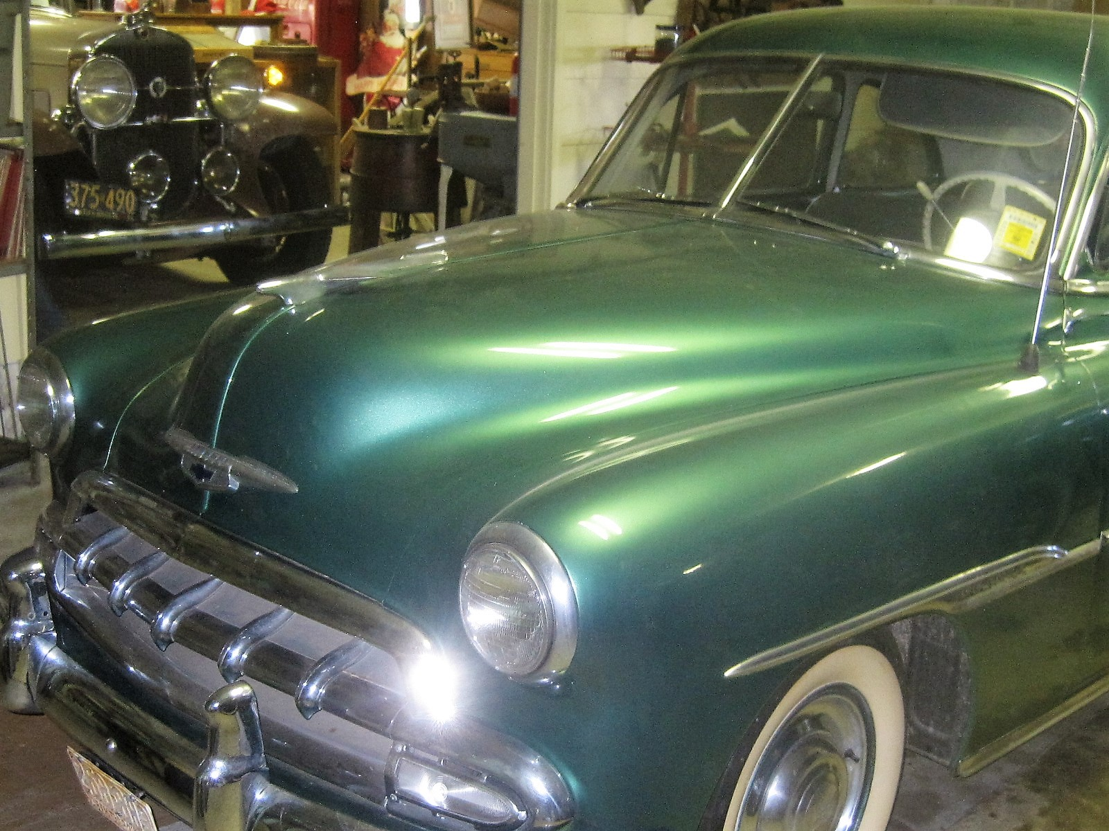 1951 Chevy Deluxe 2 Door Sedan With Automatic Transmission For Sale Chevrolet Coupe Img 3443