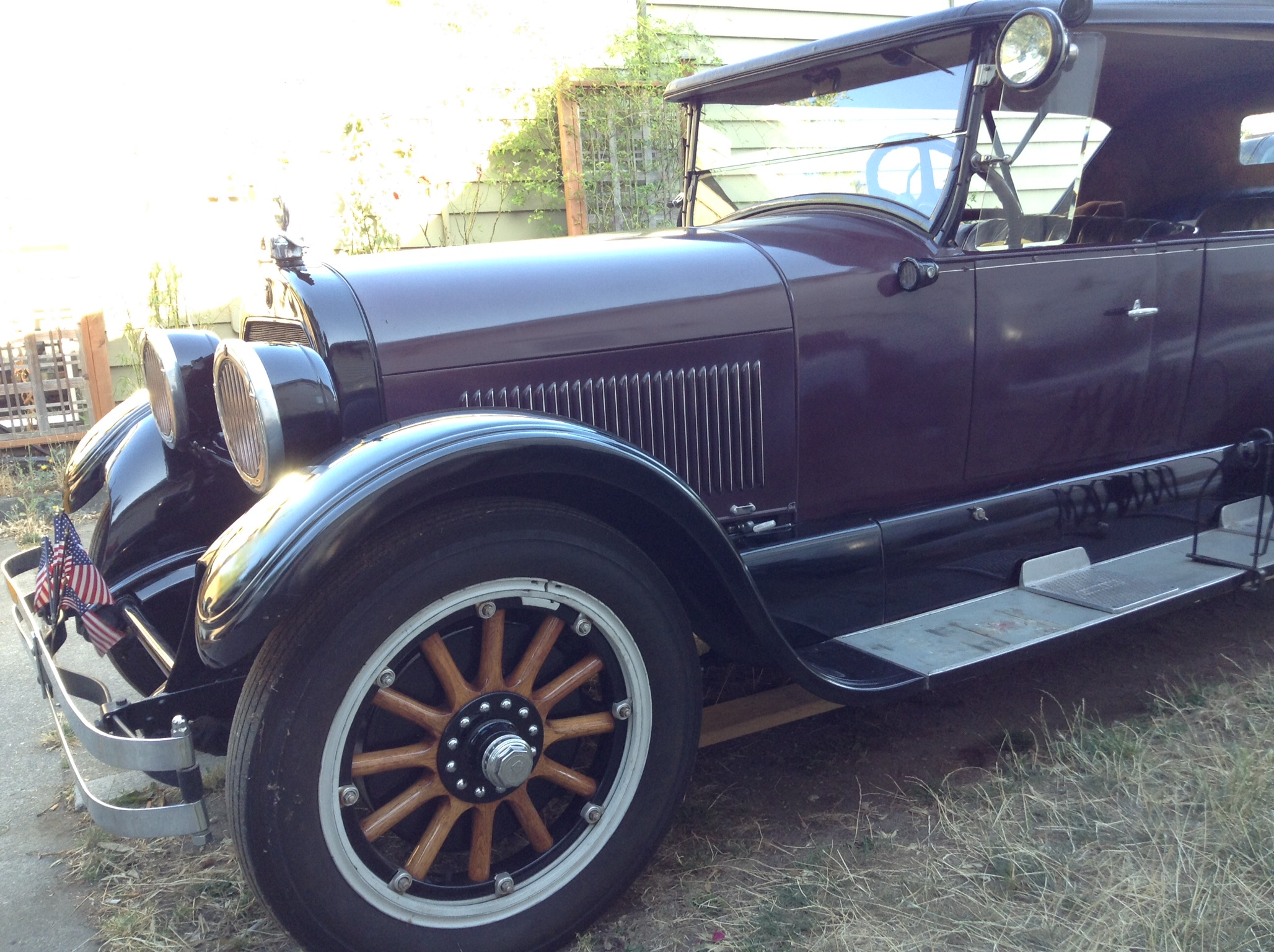 Wooden Spoke Wheels Our Cars Amp Restoration Projects Antique Automobile Club Of America