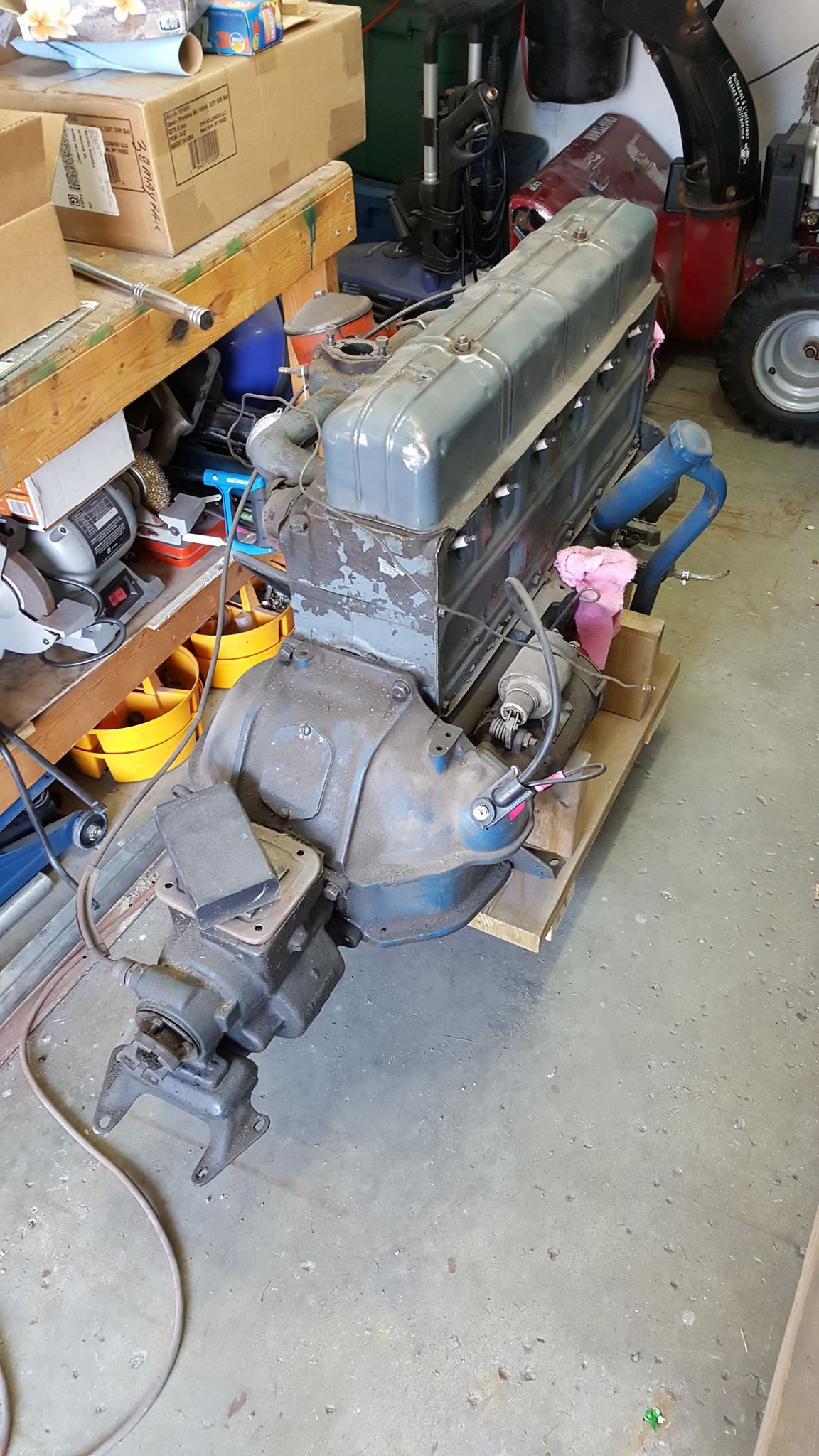 Straight 6 GM 235 Chevy '54 engine help - Technical - Antique Automobile  Club of America - Discussion ForumsAACA Forums - Antique Automobile Club of America