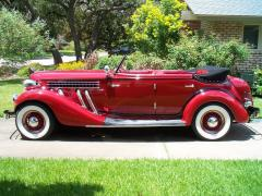1935 Auburn Super-Charged Convertible Sedan